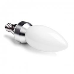 LED svíčka E14 4W MAT B37 2900K