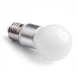LED žárovka E27 4W MAT A50 2800K