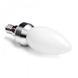 LED svíčka E14 4W MAT B37 2700K