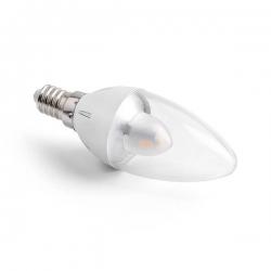 LED svíčka E14 3W CL B37 2800K