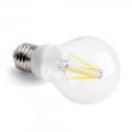 LED vláknová žárovka E27 5,5W CL A60 2700K DIM