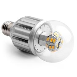 LED žárovka E27 12W CL A65 2800K