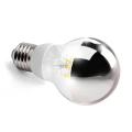LED žárovka E27 6,2W SILVER A60 2700K Ra90 DIM