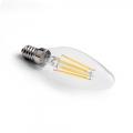 LED vláknová svíčka E14 3,4W CL B35 2700K