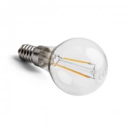 LED vláknová žárovka kapka E14 2,5W CL P45 2700K