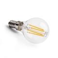 LED vláknová žárovka kapka E14 4,5W CL P45 2700K