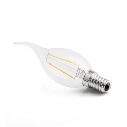 LED svíčka E14 1,7W CL B35 2200K Ra90