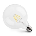 LED vláknová žárovka E27 4W CL G125 2700K Ra90