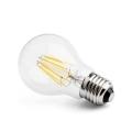 LED žárovka E27 8W CL A60 2700K
