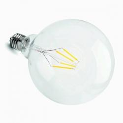LED vláknová žárovka E27 4W CL G125 2700K Ra80